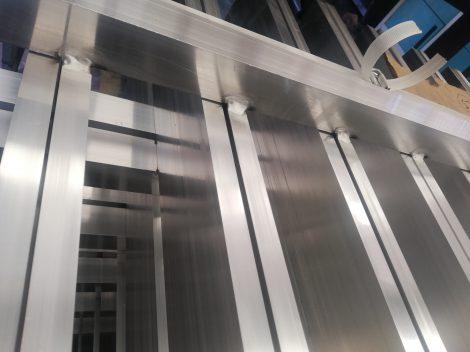 Travail en aluminium