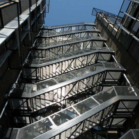 Escaliers - construction metallique
